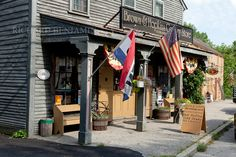 Rhode Island. The Brown and Hopkins store in Chepachet is one of the oldest continuous such stores in the country, dating back to 1709. Photo by Richard Benjamin. #VisitRhodeIsland