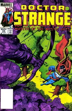 Doctor Strange 66 (1984), cover & art by Paul Smith. Whatever happened to Paul Smith?