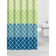 Bamboo Flat Shower Curtain