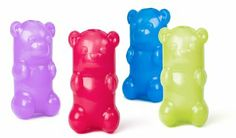 Toy: $10 Ruff Dawg Gummy Bear Rubber Dog Toy