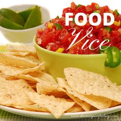 Do you have a food vice? Whoops! This is a lesson I keep learning. If you can't stop eating it, STOP buying it. Chips and salsa are my vice. Especially chips from Chipotle...soooo lime-y and ever so salty. Ahhh.... They somehow made their way into the house, so OUT they go. Yeah a few of these won't hurt most people, but for me it's one of those things I can't... stop.... eating... Good bye and I love you...