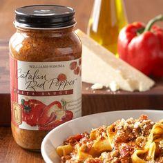 Catalan Red Pepper Pasta Sauce on Williams-Sonoma.com