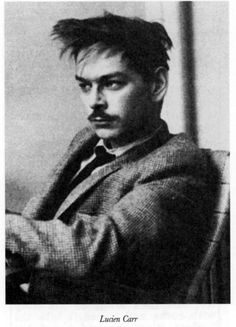 Lucien Carr hung out with Jack Kerouac and William S. Burroughs, who later published an account of the day Carr stabbed his old Boy Scout leader, David Kammerer, with his old Boy Scout knife, tying his hands and rolling him into a river to make sure the job was done right. To be fair, Kammerer had been following Carr all over the country for years, and Carr had had enough. His son Caleb grew up to be a suspense novelist. Clique na foto para garantir livros da Beat Generation.
