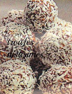 Γλυκές Τρέλες: ΤΑ ΝΗΣΤΙΣΙΜΑ ΓΛΥΚΑ ΤΗΣ ΣΑΡΑΚΟΣΤΗΣ!!!!- 9 ΣΥΝΤΑΓΕΣ ! Greek Sweets, Greek Desserts, Party Desserts, Greek Recipes, Vegan Desserts, Vegan Food, Food Network Recipes, Cooking Recipes, Vegetarian Recipes