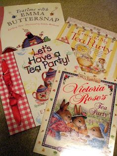 Childrens Tea Party Books