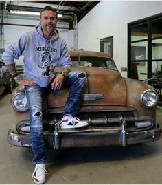 Gaz Monkey, Richard Rawlings, Cadillac, Pur Sang, Gas Monkey Garage, American Motors, Country Men, Grey Hoodie, Car Show