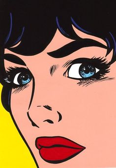 Pop art painting poster illustrations 42 ideas for 2019 Pop Art Drawing, Illustration Art Drawing, Illustrations, Art Drawings, Drawing Ideas, Bd Pop Art, Pop Art Face, Pop Art Girl, Vintage Pop Art
