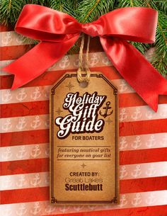 Over 17 pages of gift ideas for the boating enthusiast!