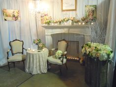 elegant vintage wedding show booth Wedding Expo Booth, Bridal Show Booths, Wedding Catering, Wedding Vendors, Weddings, Vendor Booth, Pregnant Wedding Dress, Colorado Wedding Venues, Wedding Fair