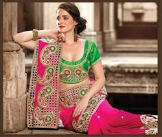 Exclusive Lehenga Saree Collection 2014 for Women: Here are a collection of Lehenga Sarees 2014 designs for girls. The collection features some of the best products that are used for wedding wear, …