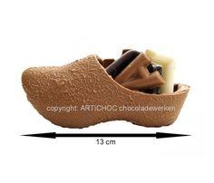 Chocolade klomp gevuld 13 cm