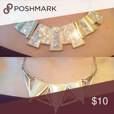 Set of two golden statement necklaces Fashion jewelry from Forever 21. Wore them once :) Forever 21 Jewelry Necklaces