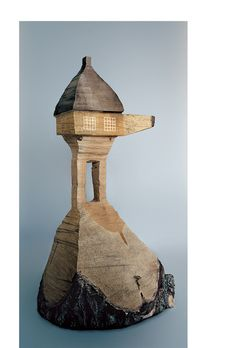 Terunobu Fujimori, architectural model for his Too-High Tea House