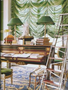 The Peak of Chic® - Karl Lagerfeld's Library