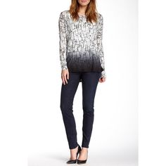 Miraclebody Rikki Skinny Jean ($60) ❤ liked on Polyvore