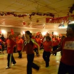 Soul line dances or urban line dances such as the Wobble, Cupid Shuffle, Cha Cha Slide, Bikers Shuffle or Booty Call are similar to country line.