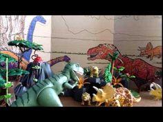 Dinosaurussen Stopmotion - YouTube