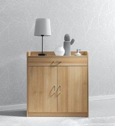 Buy Araki 2 Door Wardrobe & Dressing Table by Mintwud Online - Modern Cabinets - Cabinets - Furniture - Pepperfry Product Cafe Furniture, Sideboard Furniture, Vintage Sideboard, Solid Wood Furniture, Upholstered Furniture, Online Furniture, Modern Furniture, Wood Drawers, Home