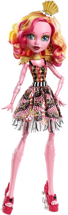 BOUGHT Monster High Freak du Chic Gooliope Jellington Doll Should be able to find her for about $30.