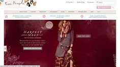 Inspirational fashion website design