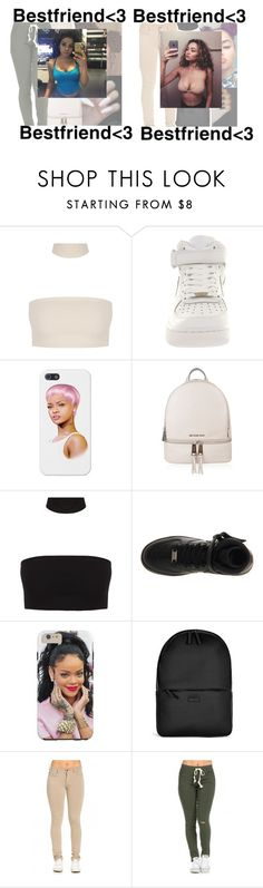 """""""†💎†💎†"""" by trxp-trxll ❤ liked on Polyvore featuring NIKE, MICHAEL Michael Kors and Rains"""