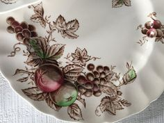 vintage Johnson Bros china Harvest time dinner by 1350Northvintage