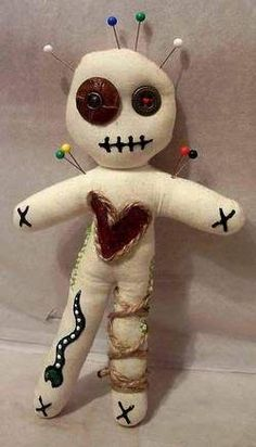 Voodoo Dolls. Would make a perfect pin cushion.