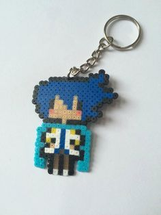 Vocaloid Kaito Keychain - pinned by pin4etsy.com