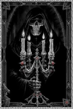 grim reaper candle - Google Search