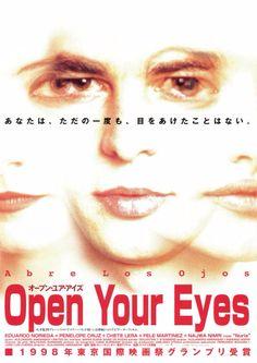 オープン・ユア・アイズ (原題:Abre los ojos) 監督アレハンドロ・アメナーバル Alejandro Amenábar