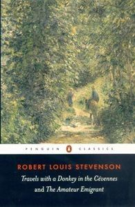 Travels with a Donkey in the Cevennes by Robert Louis Stevenson. In 1878, Robert Louis Stevenson was suffering from poor health, struggling to survive on the income derived from his writings, and tormented by his infatuation with Fanny Osbourne, a married American woman. His response was to embark on a journey through the Cevennes with a donkey, Modestine, and a notebook, which he later transformed into Travels with a Donkey