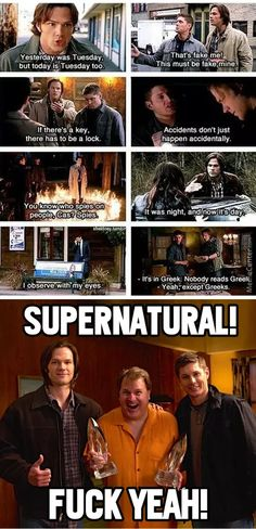 The Award Winning Series Supernatural