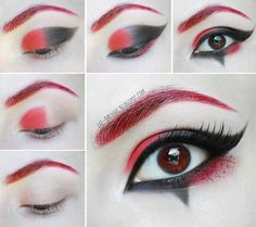 Harley Quinn make up tutorial