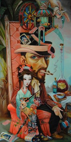 Amazing Oil Paintings by Leslie Ditto - B | Creative ...BTW,Please Check this out: http://artcaffeine.imobileappsys.com