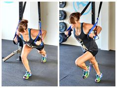 10 Suspension Trainer Exercises using the CoreX trainer. These exercises will work you from head to toe! Trx Full Body Workout, Best Cardio Workout, Fitness Workouts, Ab Workouts, Trx Abs, Suspension Trainer, Trx Suspension, Pilates Reformer Exercises, Pilates Yoga