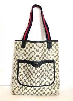 727139a4d43b Gucci Vintage GG Supreme Tote Bag