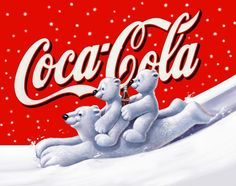 Illustrator Stefano Riboli 2004 Orsi Coca Cola Winter Coca Cola advertising Campaign having the Bears as the main subject.The same subjects were been used on the packaging. Published on: Italy - Coca Cola - Idea of Coca Cola Coca Cola Santa, Coca Cola Christmas, Coca Cola Polar Bear, Christmas Signs, Christmas Pictures, Vintage Christmas, Christmas Cards, Coca Cola Merchandise, Coca Cola Pictures