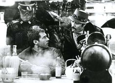 You got the wrong guy, pal. Harrison Ford as Rick Deckard & Edward James Olmos as Gaff in #BladeRunner (1982).