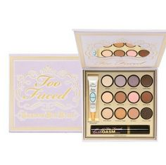 Shop Women's Too Faced size OS Makeup at a discounted price at Poshmark. Description: Great gift idea!! 12 full size highly pigmented eyeshadows in neutral and plum/purple tones. Also includes large mirror, Shadow Insurance Candlelight Eyeshadow Primer (0.17 oz.), and full-sized Lashgasm Mascara (0.40 oz.) Brand new, Never used. Sold by opal8. Fast delivery, full service customer support.