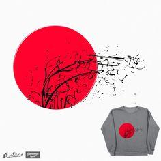Nature on Threadless. Buenos días familia!! Hoy me he levantado con #buenasnoticias!! En Threadless han aceptado mi #diseño para el #reto #JapaneseArt. Podéis votarme o incluso compraros una #camiseta con mi #ilustración!!