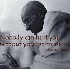 Classic Gandhi quote