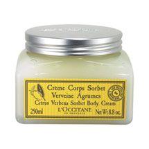 Citrus Verbena Sorbet Body Cream- labeling and packaging