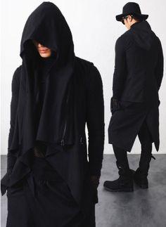 Mens Vandals DRKSHDW Hooded Vest -detachable hood at Fabrixquare