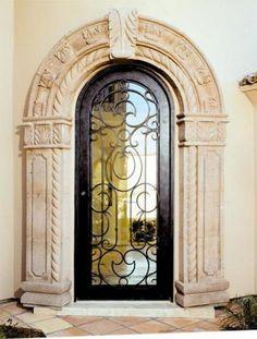 Alhambra-75 - Wrought Iron Doors, Windows, Gates, & Railings from Cantera Doors
