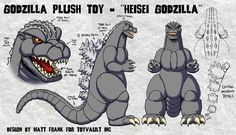 Godzilla Suit, Japanese Monster, King Kong, Cool Gadgets, Cuddling, Samurai, Geek Stuff, Plush, Deviantart