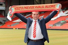 Brendan Rogers is unveiled as the new Liverpool FC manager