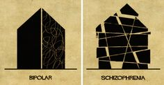 Using Architecture To Explain 16 Mental Illnesses And Disorders | Bored Panda