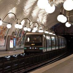 Métro de Paris #transport #metro #train #voyage #ratp #sncf