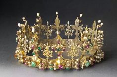 The Anjou crown from the 14th Century