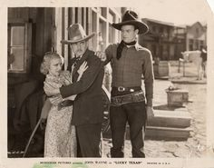 THE LUCKY TEXAN (1934) - John Wayne - Publicity Still.